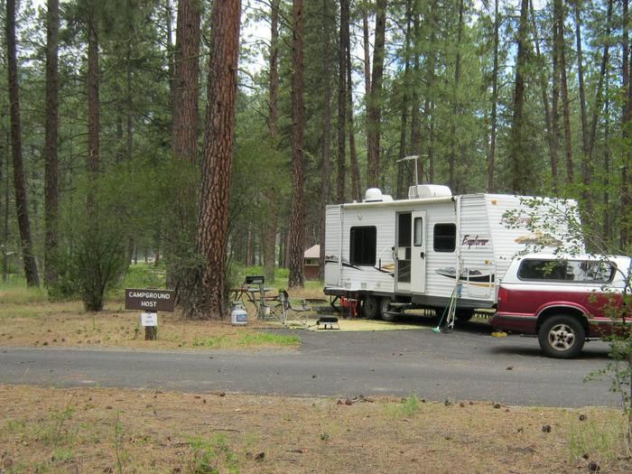 Site 20, Camp hostSite 20 Camp host