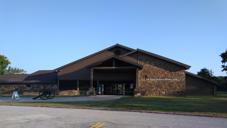 Pea Ridge National Military Park Visitor CenterThe Pea Ridge National Military Parks Visitor Center Fall of 2020.