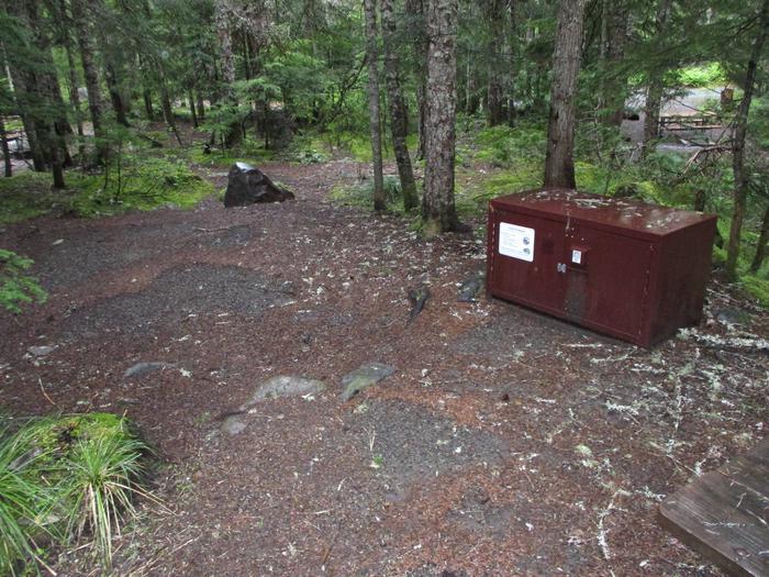 Tent Pad and Bear Box