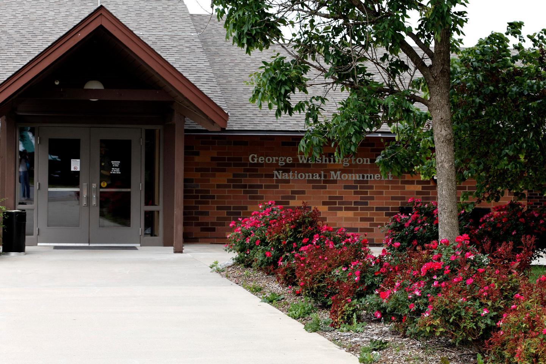 Visitor Center EntranceGeorge Washington Carver NM Visitor Center