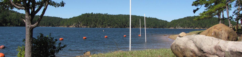Dam Area Campground Swim BeachDam Area, Lake Greeson, AR