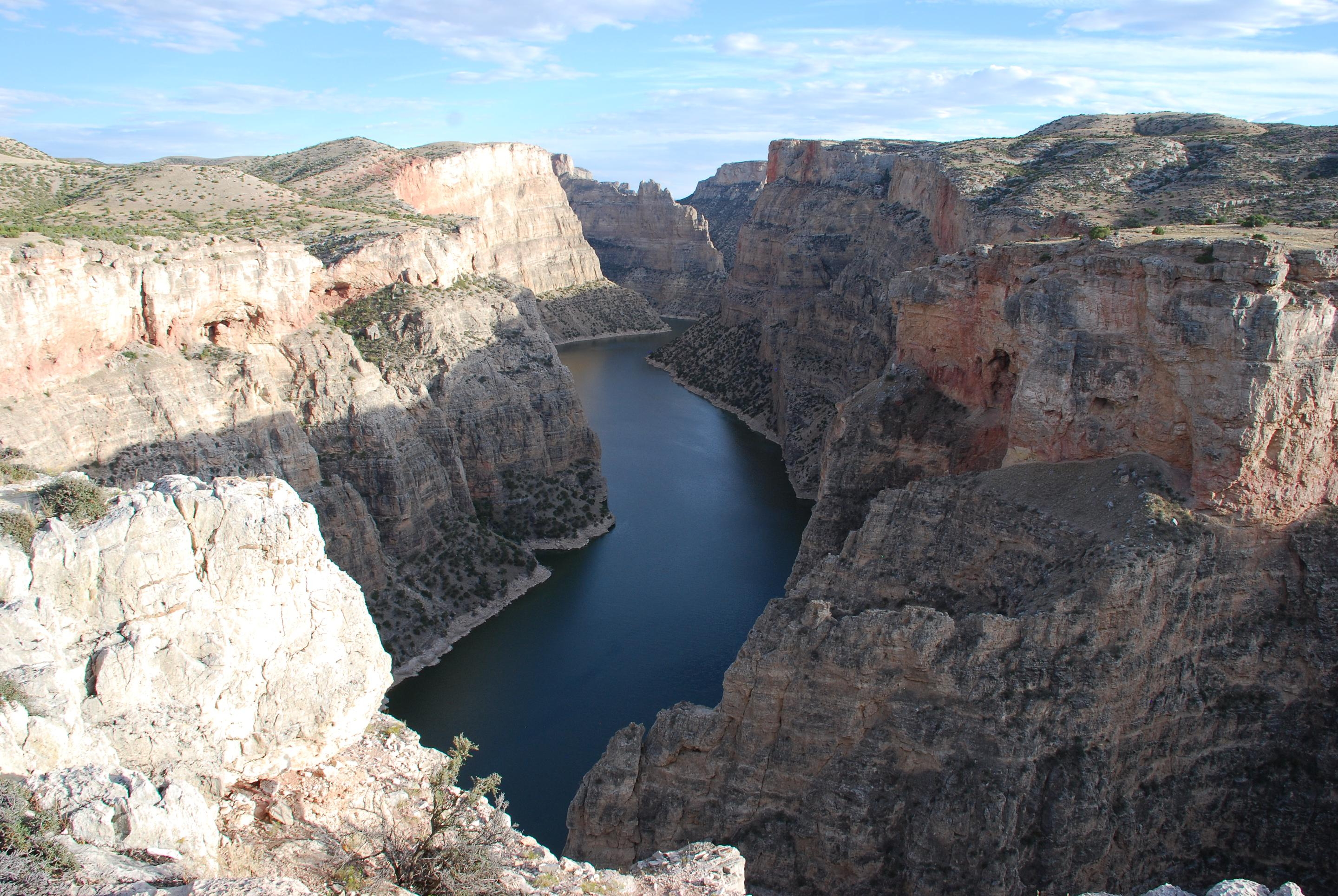 Devil Canyon Overlook from Sullivan's Knob Trail (Lovell, WY District)