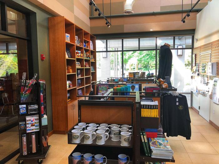 Visitor Center bookstorebooks, gifts and souvenirs in the JNPA bookstore