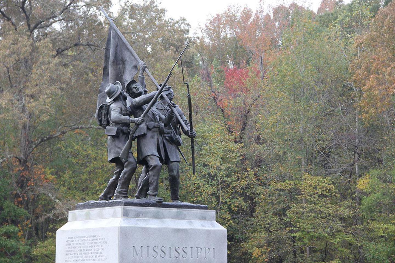 Mississippi MonumentThe Mississippi Monument