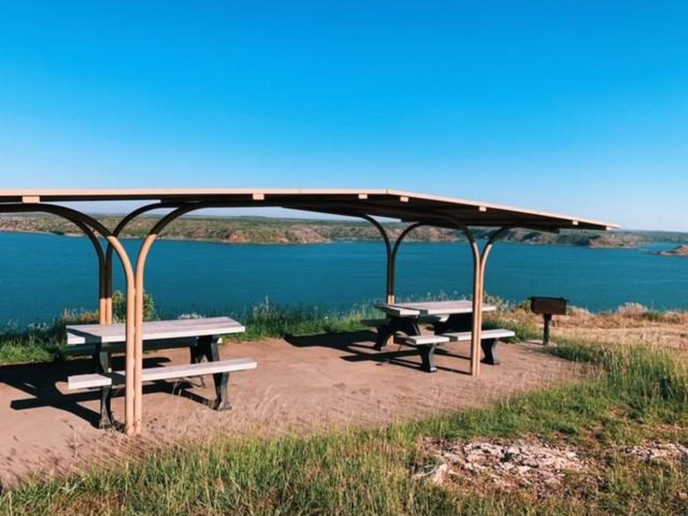 Fritch Fortress CampgroundFritch Fortress Campground overlooks Lake Meredith.