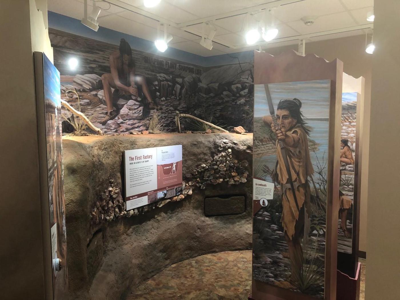 Quarry Pit Exhibit