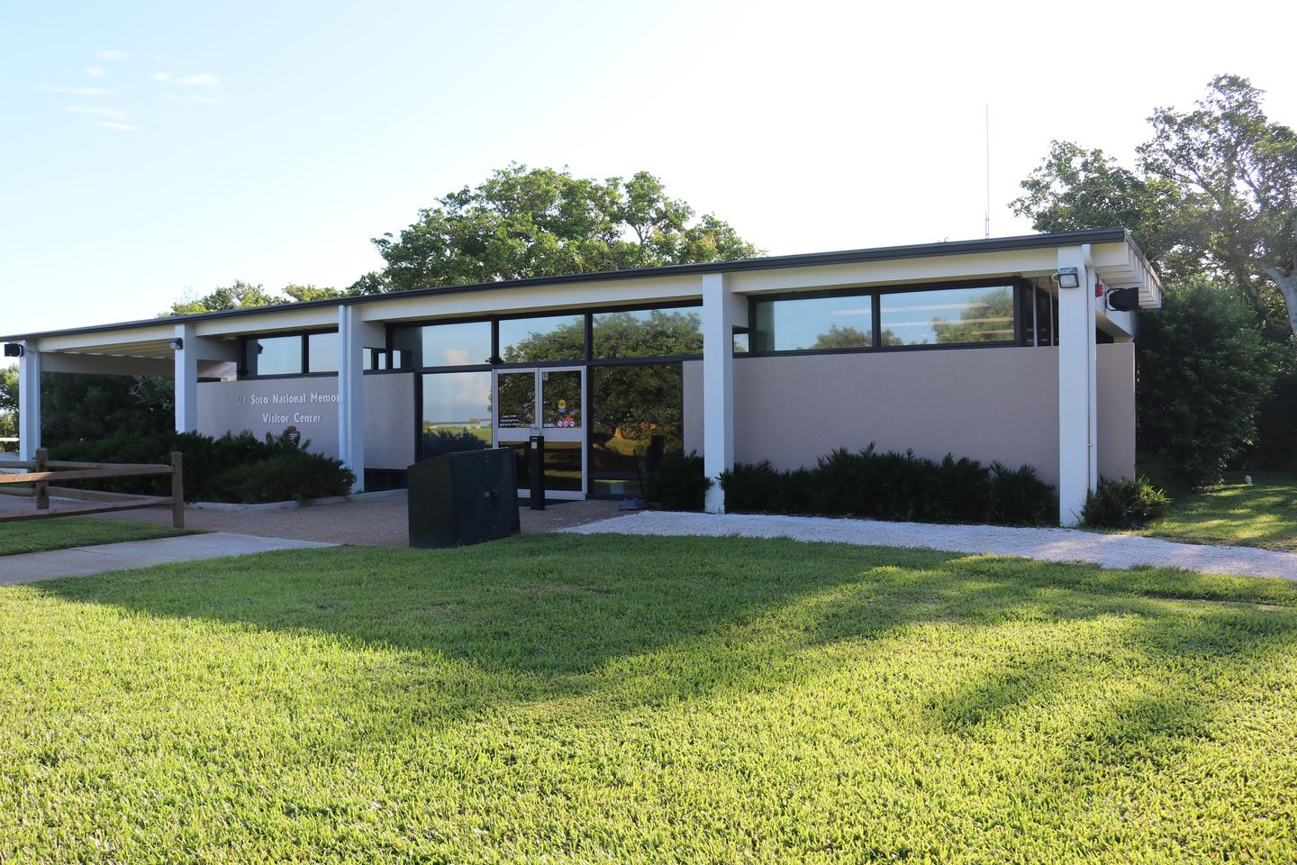 De Soto National Memorial's Visitor CenterOpen year round from 9:00 am to 5:00 pm daily.