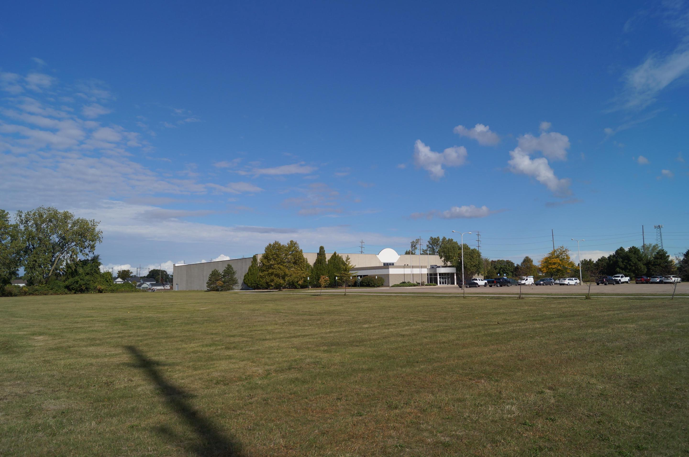 River Raisin National Battlefield Park Education CenterA View of the Lawn and new Education Center
