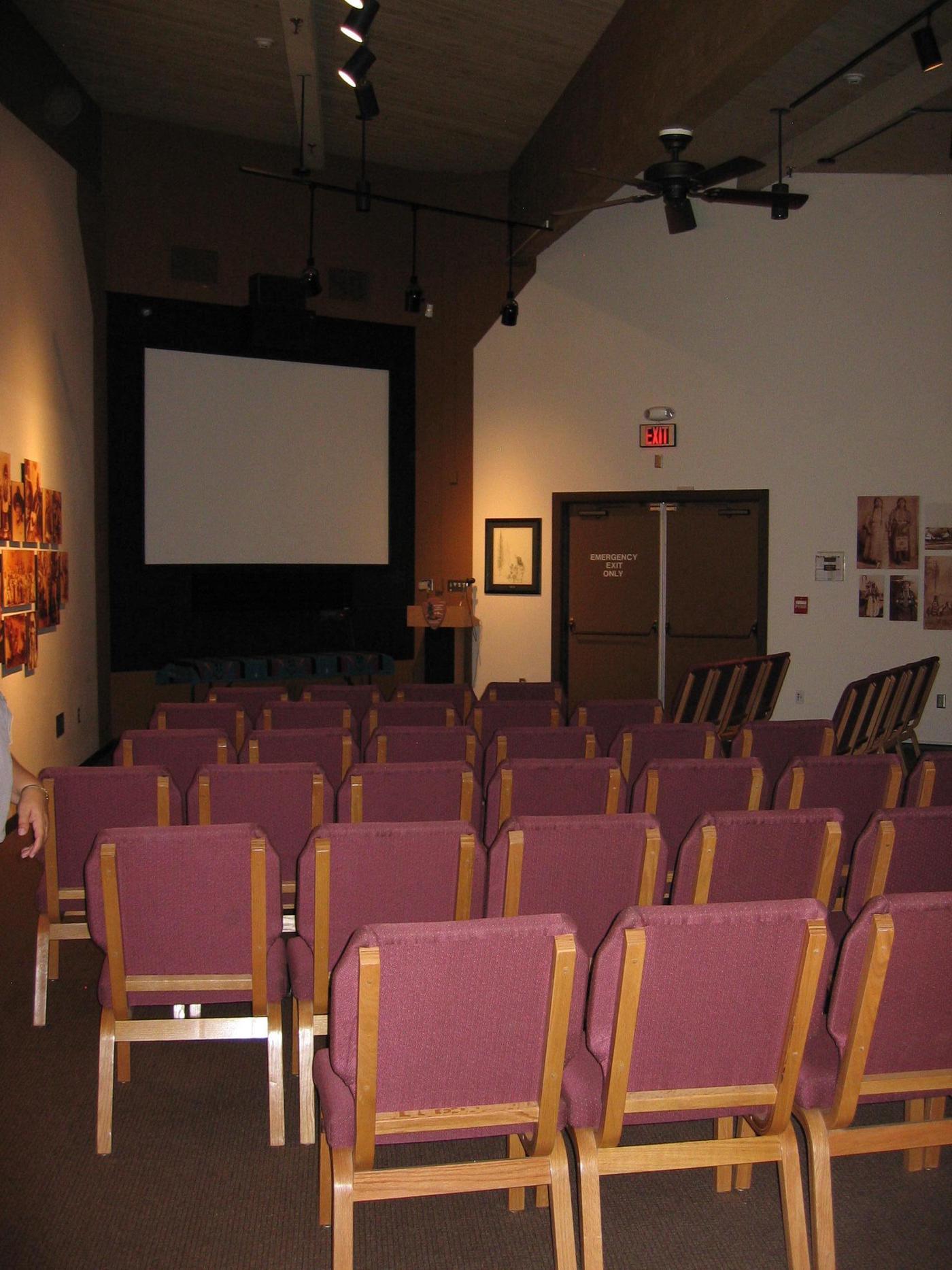 AuditoriumView the park film in the auditorium