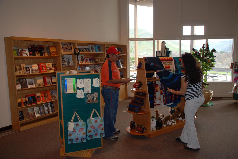 Park storeThe park store contains books and souvenirs.