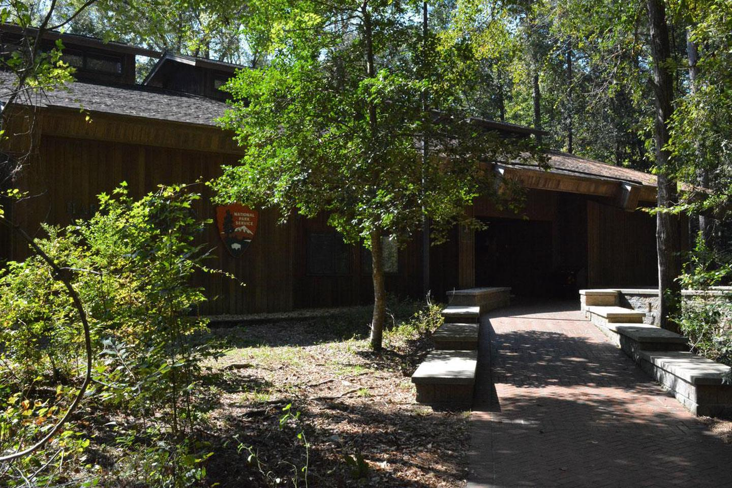 Harry Hampton Visitor CenterThe Harry Hampton Visitor Center is where visitors can start their journey of exploration at Congaree National Park