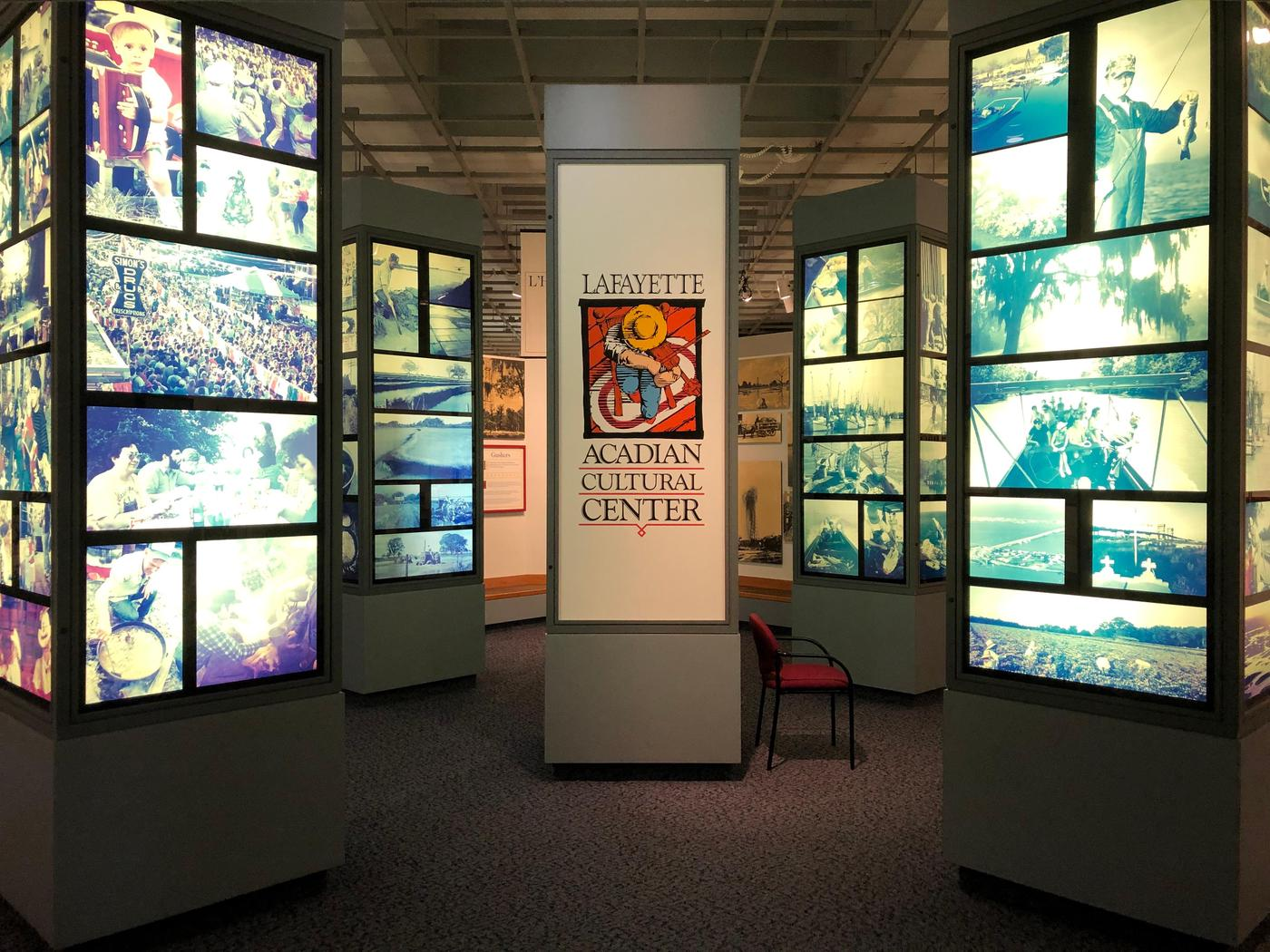 ACC MuseumThe museum as exhibits highlighting different aspects of Cajun culture