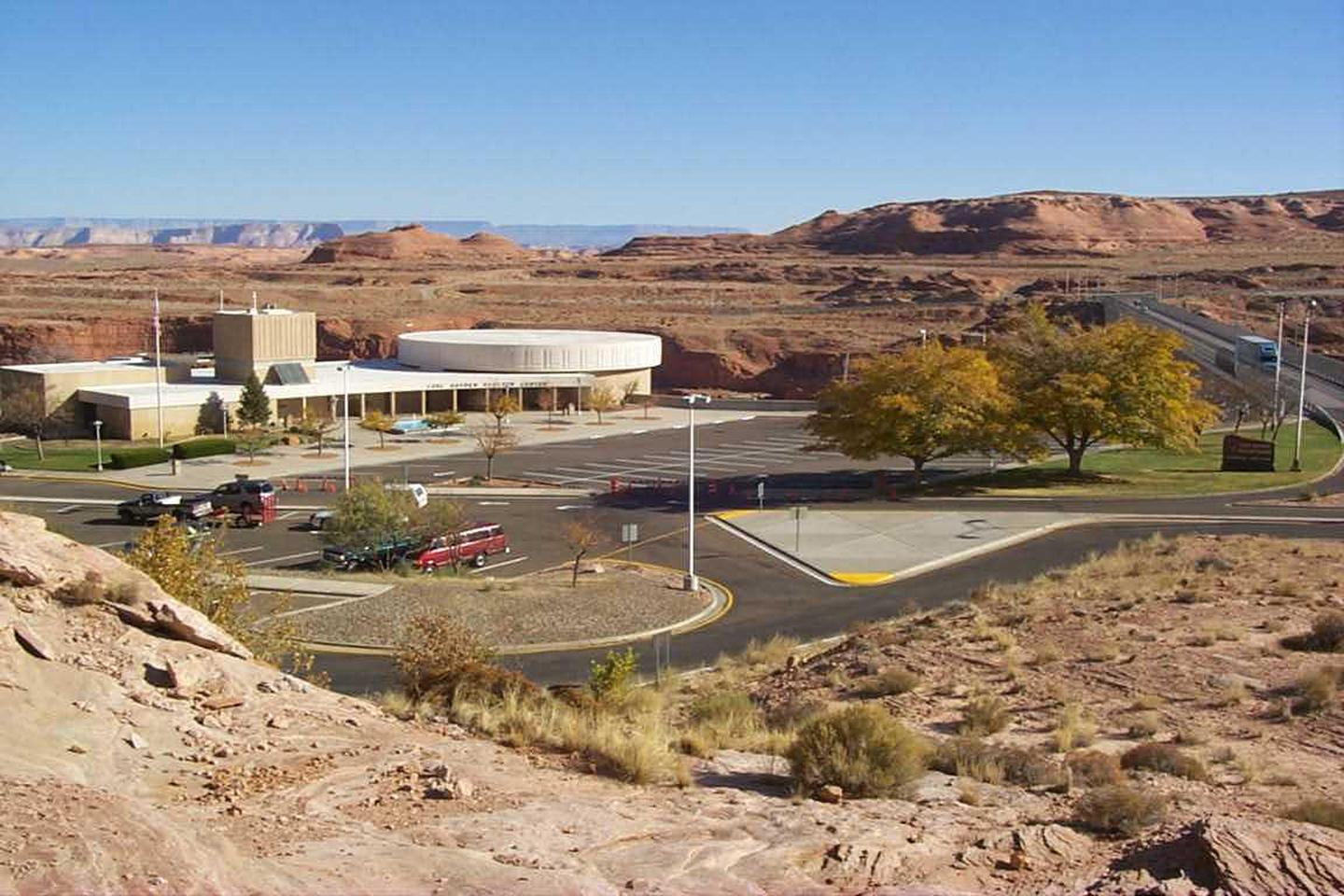 Carl Hayden Visitor Center TopCarl Hayden Visitor Center is a part of the Glen Canyon Dam and Powerplant, giving it a higher federal security status than most visitor centers.