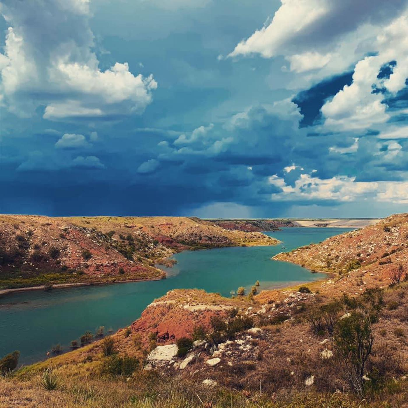 Lake Meredith StormWeather in the Texas Panhandle