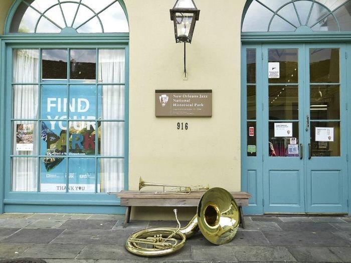 JAZZ VC exteriorNew Orleans Jazz National Historical Park Visitor Center entrance