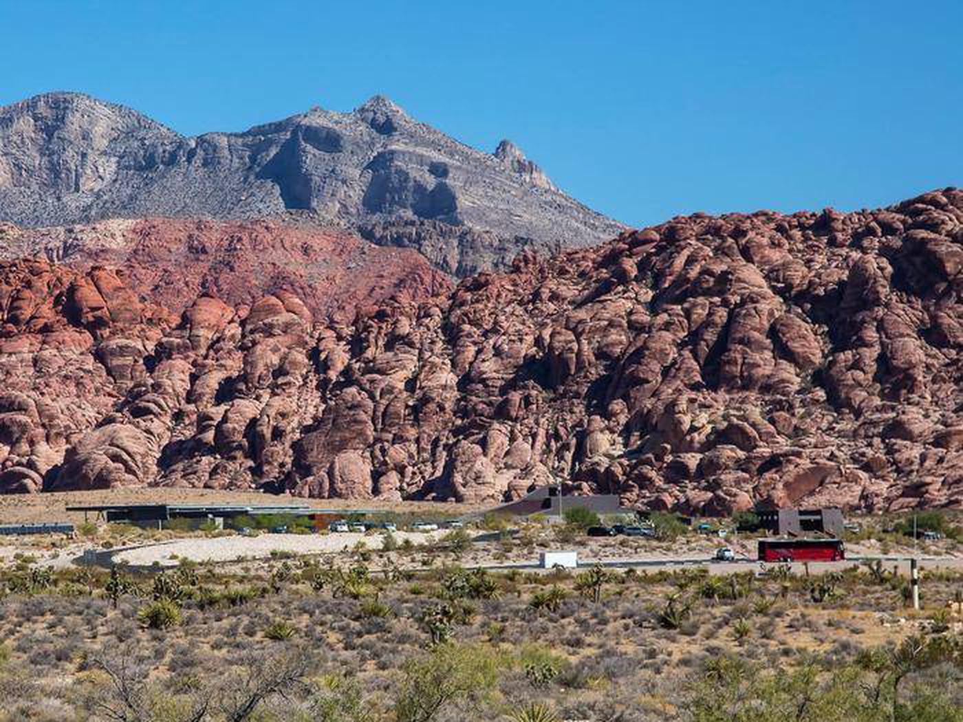 Red Rock Canyon National Conservation Area Visitor Center. Red Rock Canyon's Visitor Center