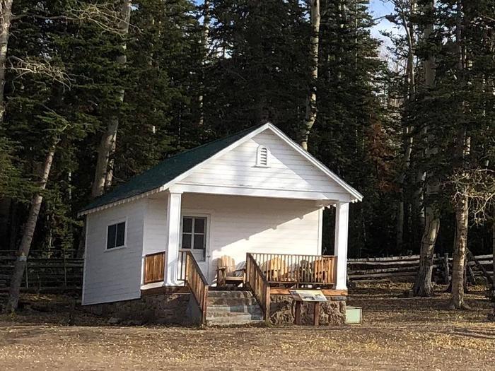 Cabin and PorchJones Corral Cabin