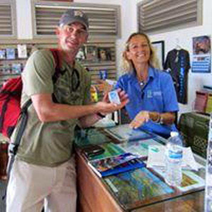HPPA BookstoreSmall bookstore run by Hawaii Pacific Parks Association with park items available