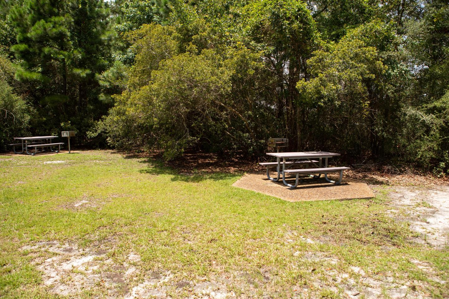 William M. Colmer Visitor Center Picnic TablesEnjoy lunch by the bayou at a picnic table near the visitor center.