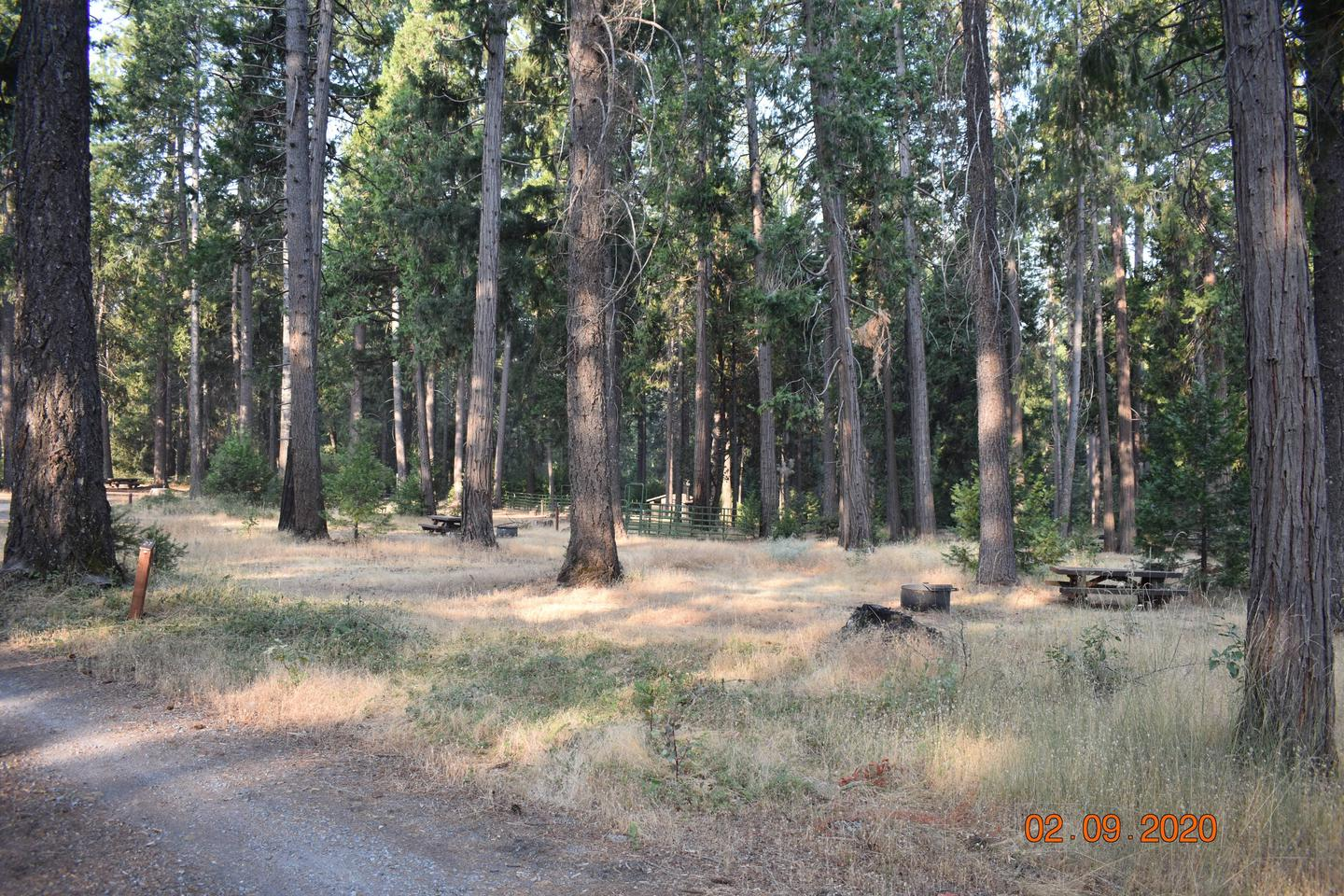 Middle loopCorrals are near some of the campsites.