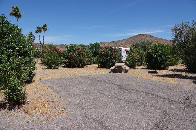 CB Campsite located in a desert setting 0602Callville Bay Campground Site 6