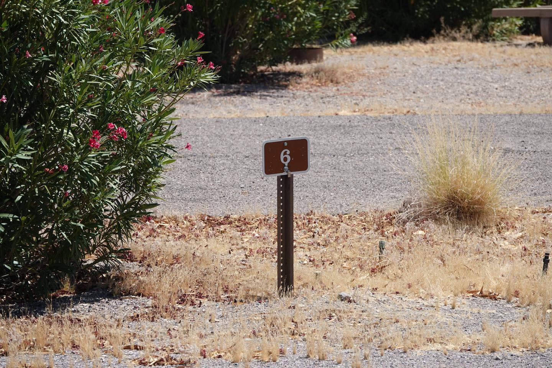 CB Campsite located in a desert setting 0603Callville Bay Campground Site 6