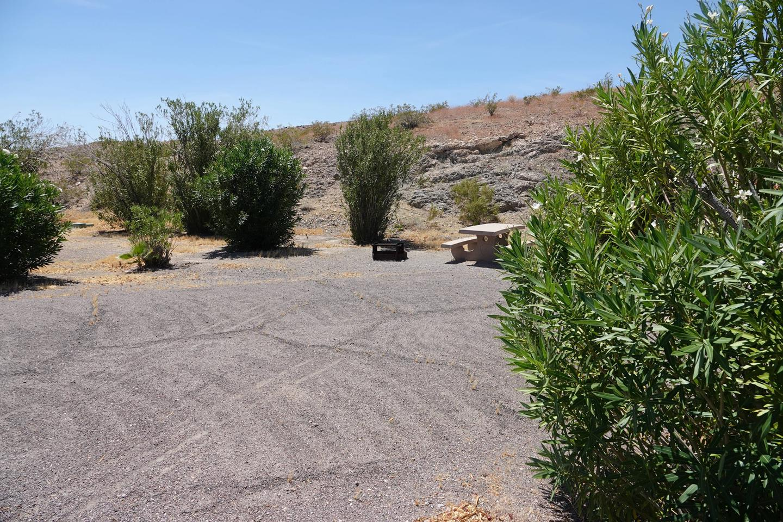 CB Campsite located in a desert setting 1102Callville Bay Campground Site 11