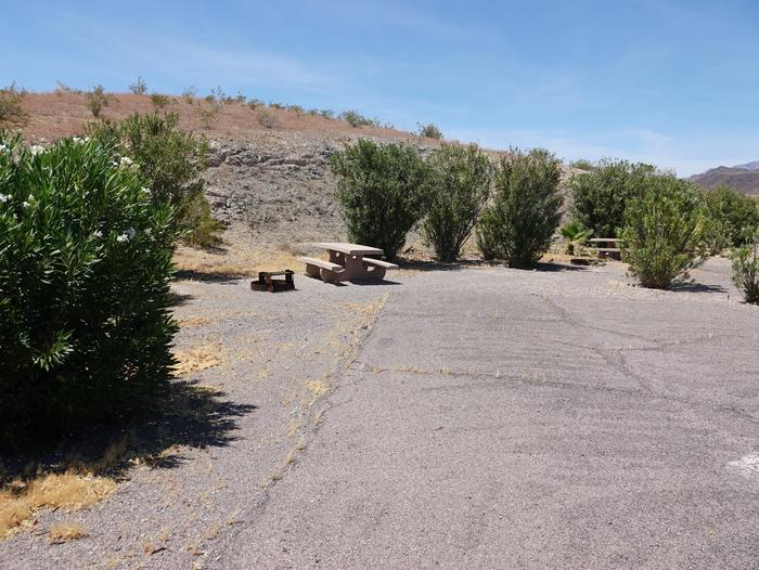 CB Campsite located in a desert setting 1101Callville Bay Campground Site 11