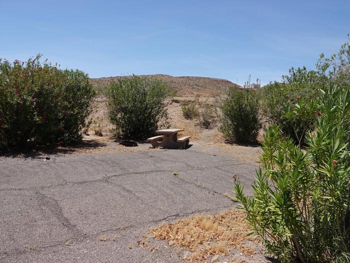 CB Campsite located in a desert setting 1601Callville Bay Site 16