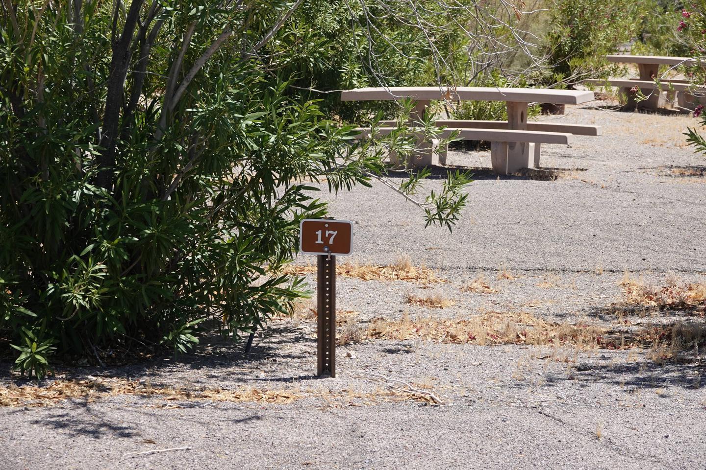 CB Campsite located in a desert setting 1703Callville Bay Campground Site 17