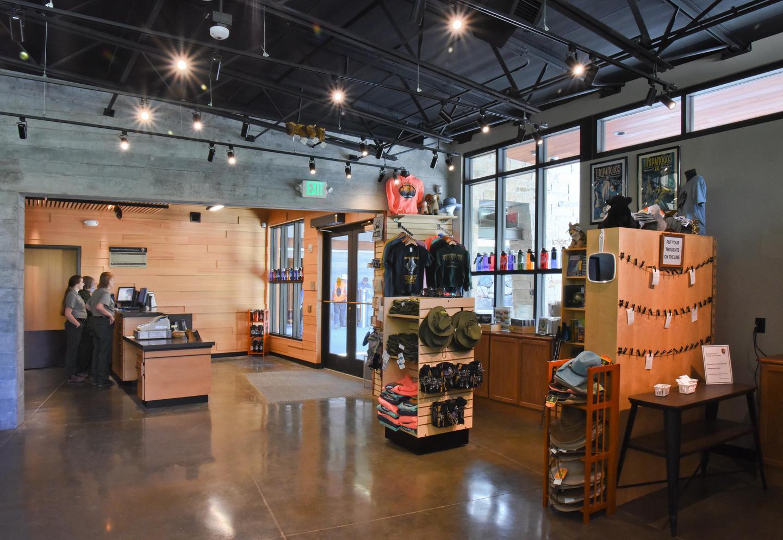 Visitor Center IneriorVisitor center interior