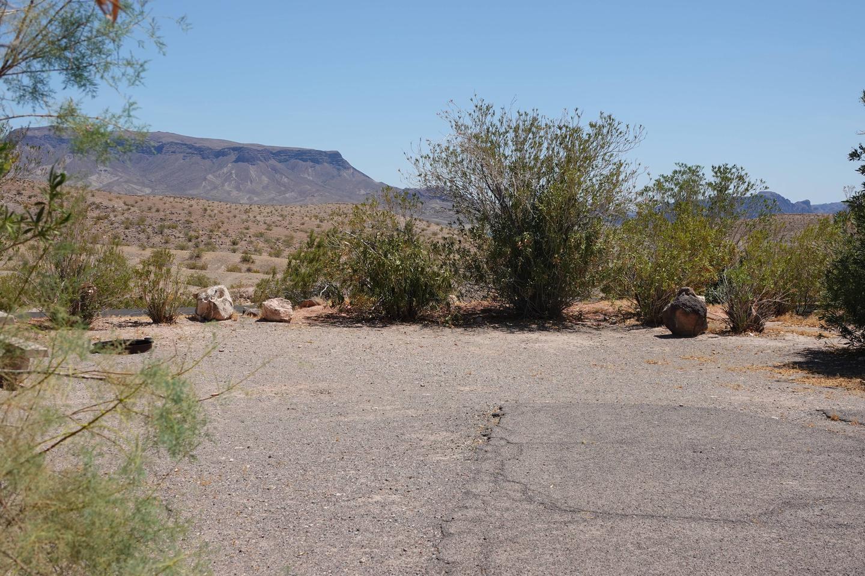 Campsite located in a desert setting1Callville Bay Campground Site 31