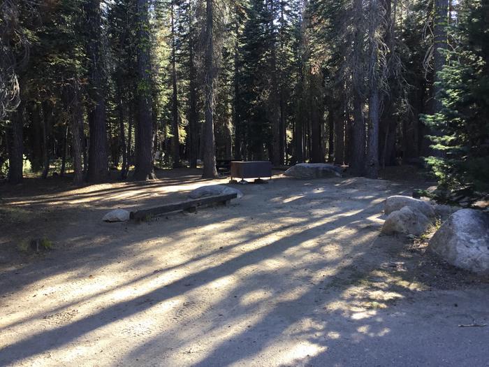 Uneven, slight incline parking