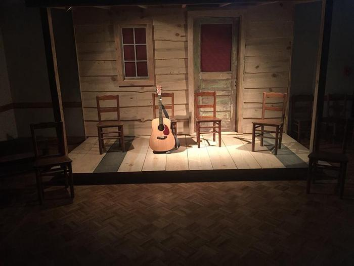 Prairie Acadian Cultural Center of Jean Lafitte National Historical Park and PreserveThe Music Porch at the Prairie Acadian Cultural Center in Eunice, LA