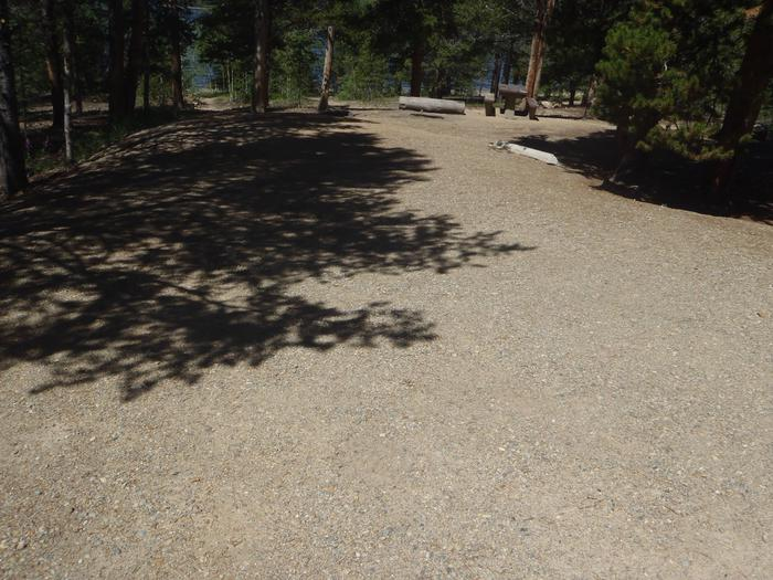 Baby Doe Campground, Site 13 parking