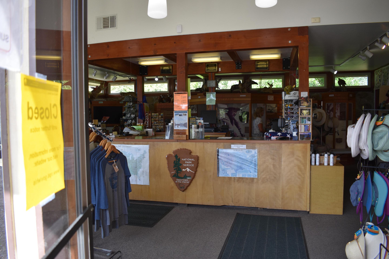 Visitors Center Interior