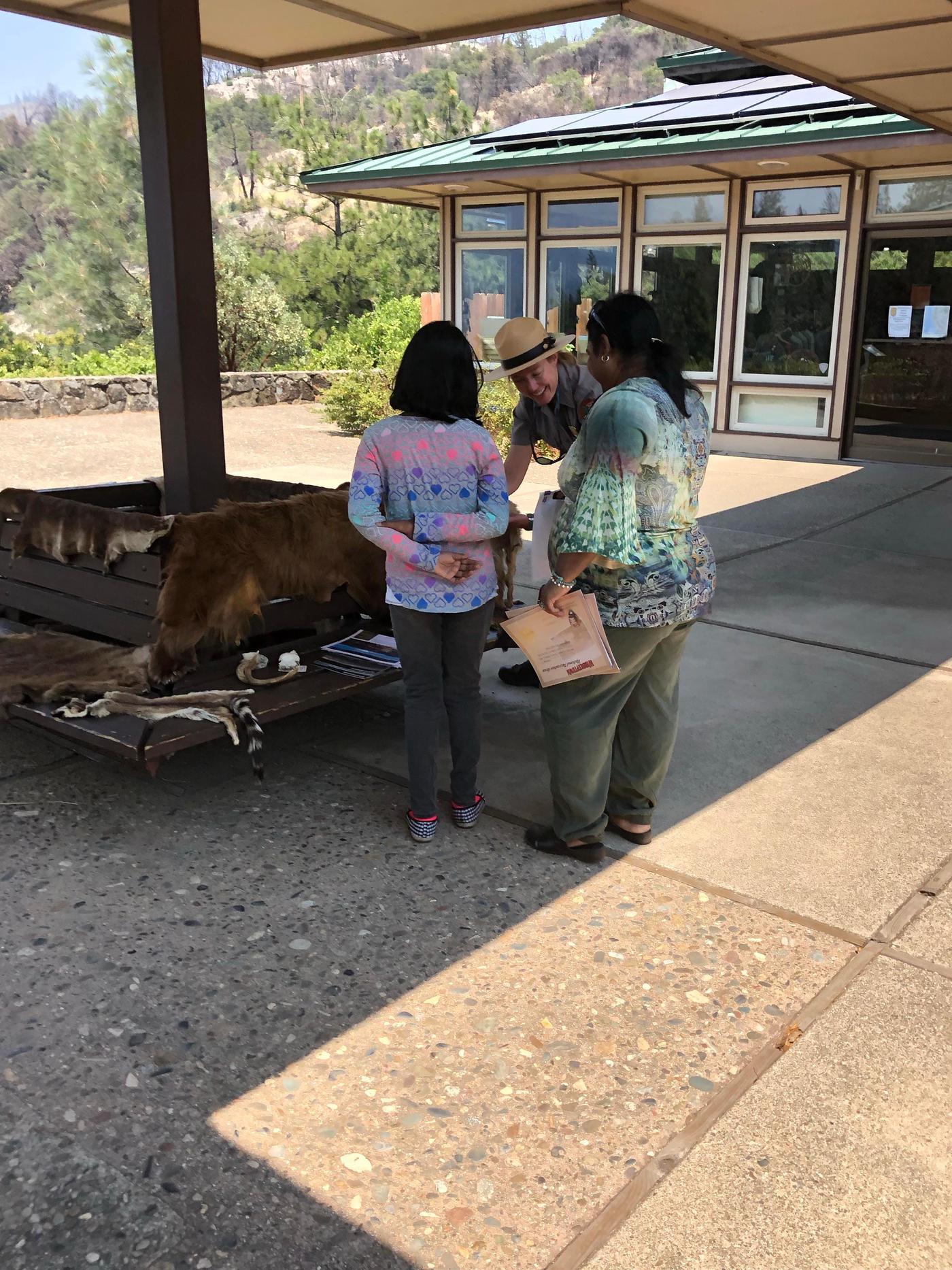 Junior Ranger Program at  Whiskeytown NRA Visitors Center