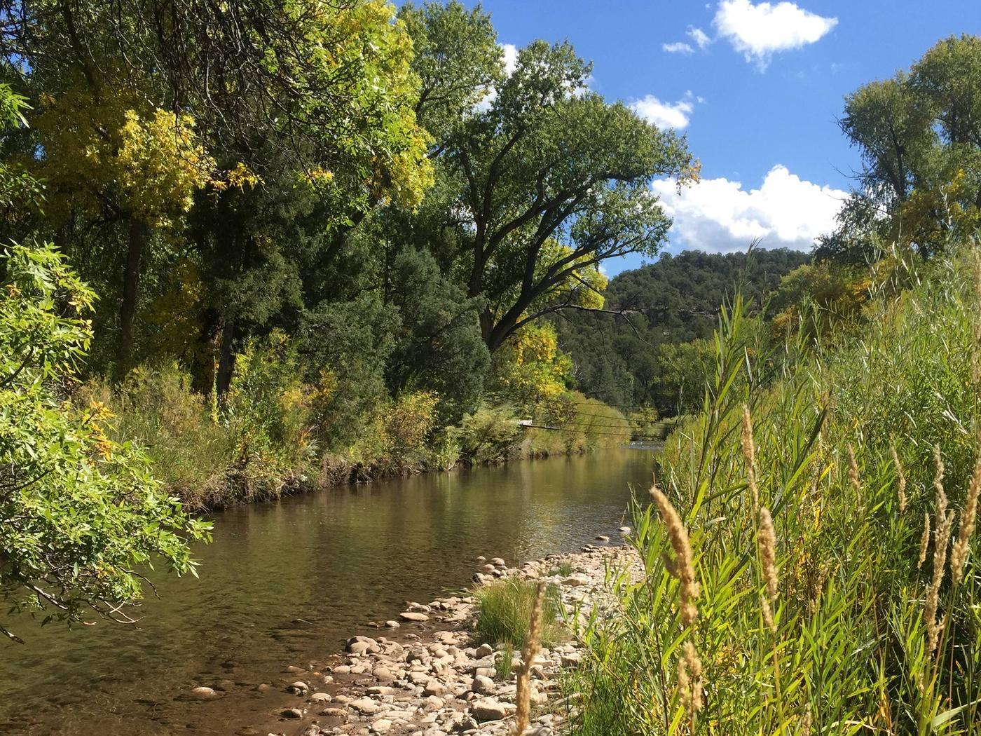 The Pecos River near the Beat 1 and Beat 2 boundary.