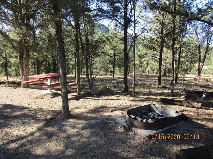 RV Site 9 Panoramic Shot
