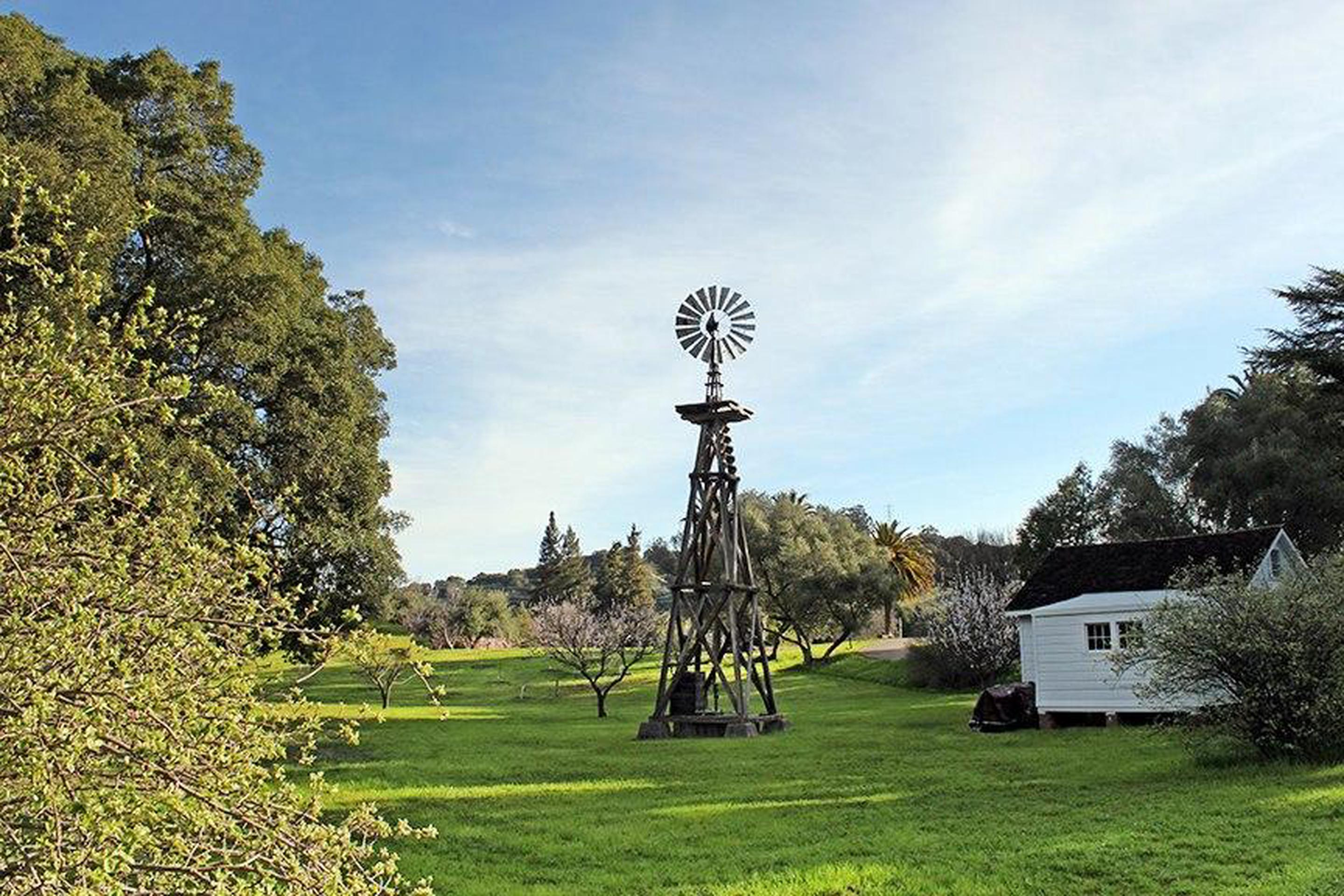 John Muir National Historic SiteThe old windmill.