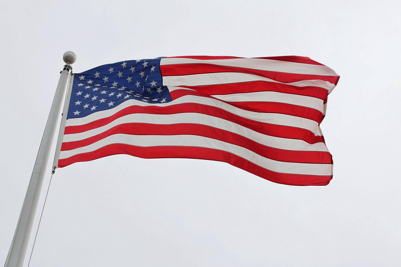 Port Chicago Naval Magazine National MemorialAmerican flag at the memorial.