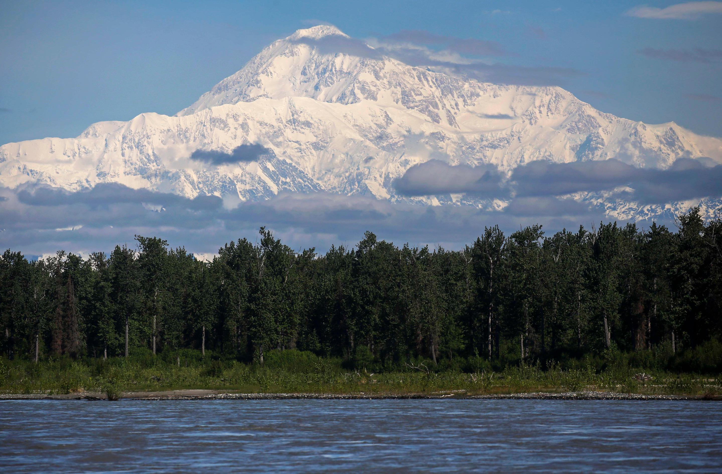 Talkeetna ViewThe view of Denali from the south, in Talkeetna, Alaska