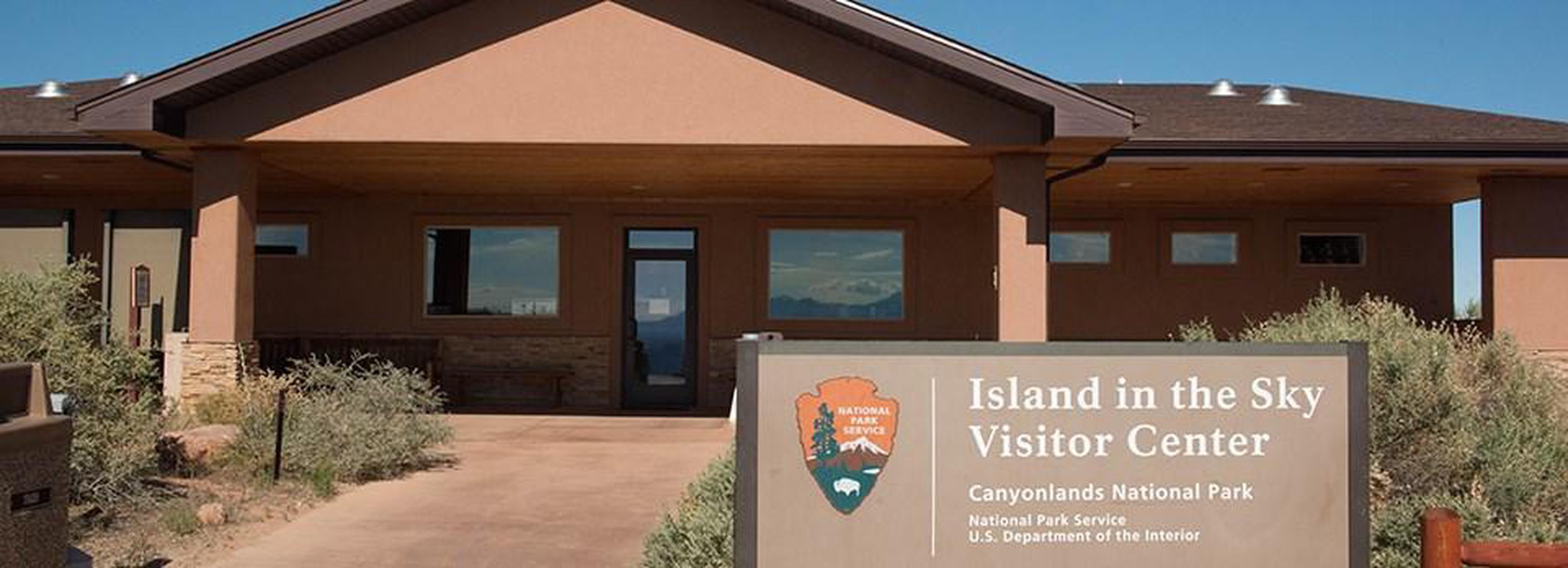 Island in the Sky Visitor CenterGet information, watch the park film, and shop at the Island in the Sky Visitor Center.
