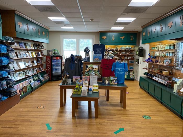 Cumberland Island Visitor Center BookstoreVisit the bookstore at the visitor center to purchase a souvenir of your trip.