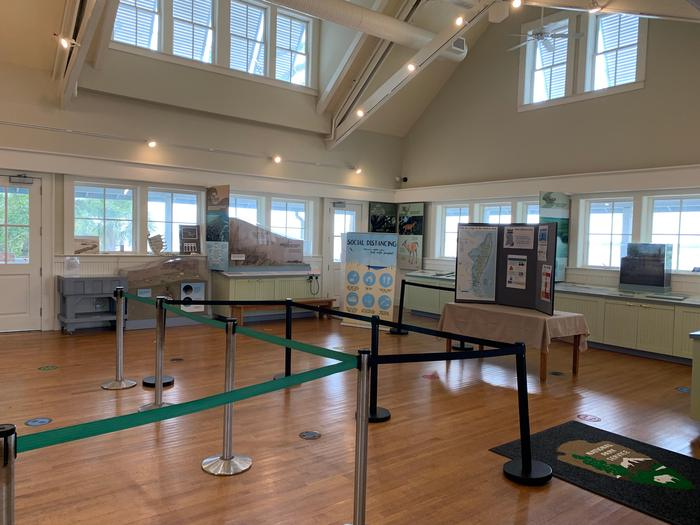 Cumberland Island Visitor Center ExhibitsCheck out the exhibits in the visitor center to learn about the island before your trip.