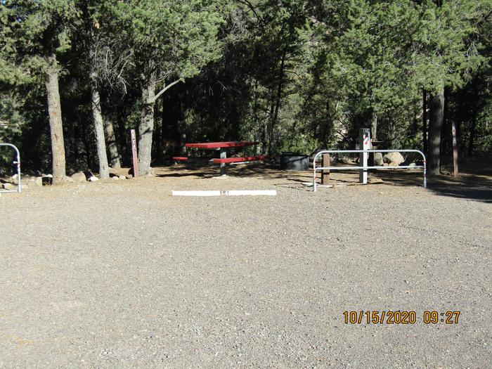 RV Site 14 ParkingParking