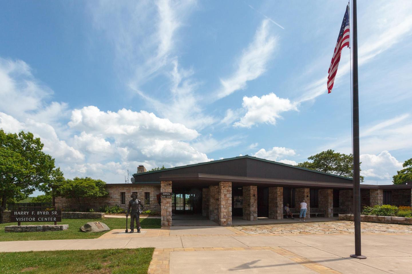 Byrd Visitor Center - EntranceByrd Visitor Center is a great place to learn more about Shenandoah National Park.