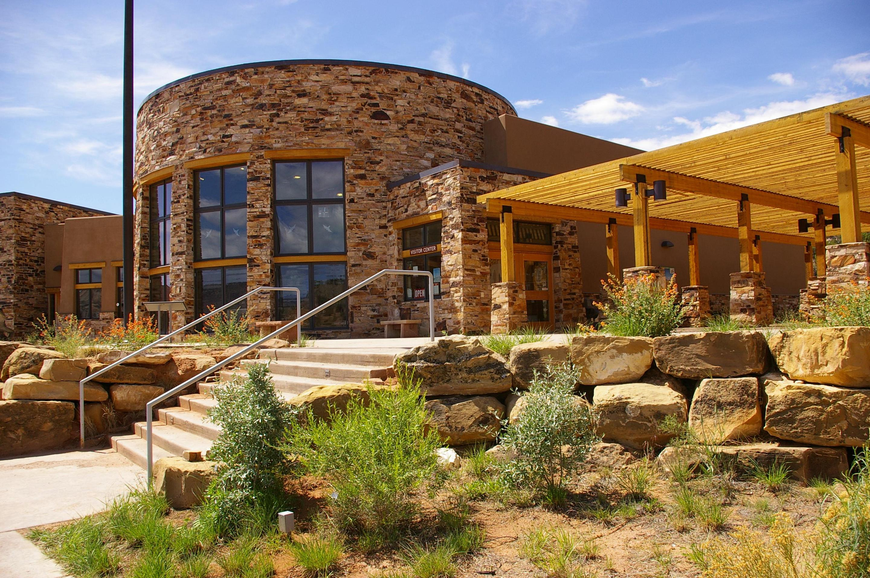 Escalante Interagency Visitor Center ExteriorThe Escalante Interagency Visitor Center is a one-stop shop for information about Glen Canyon National Recreation Area, Dixie National Forest, and Grand Staircase-Escalante National Monument,
