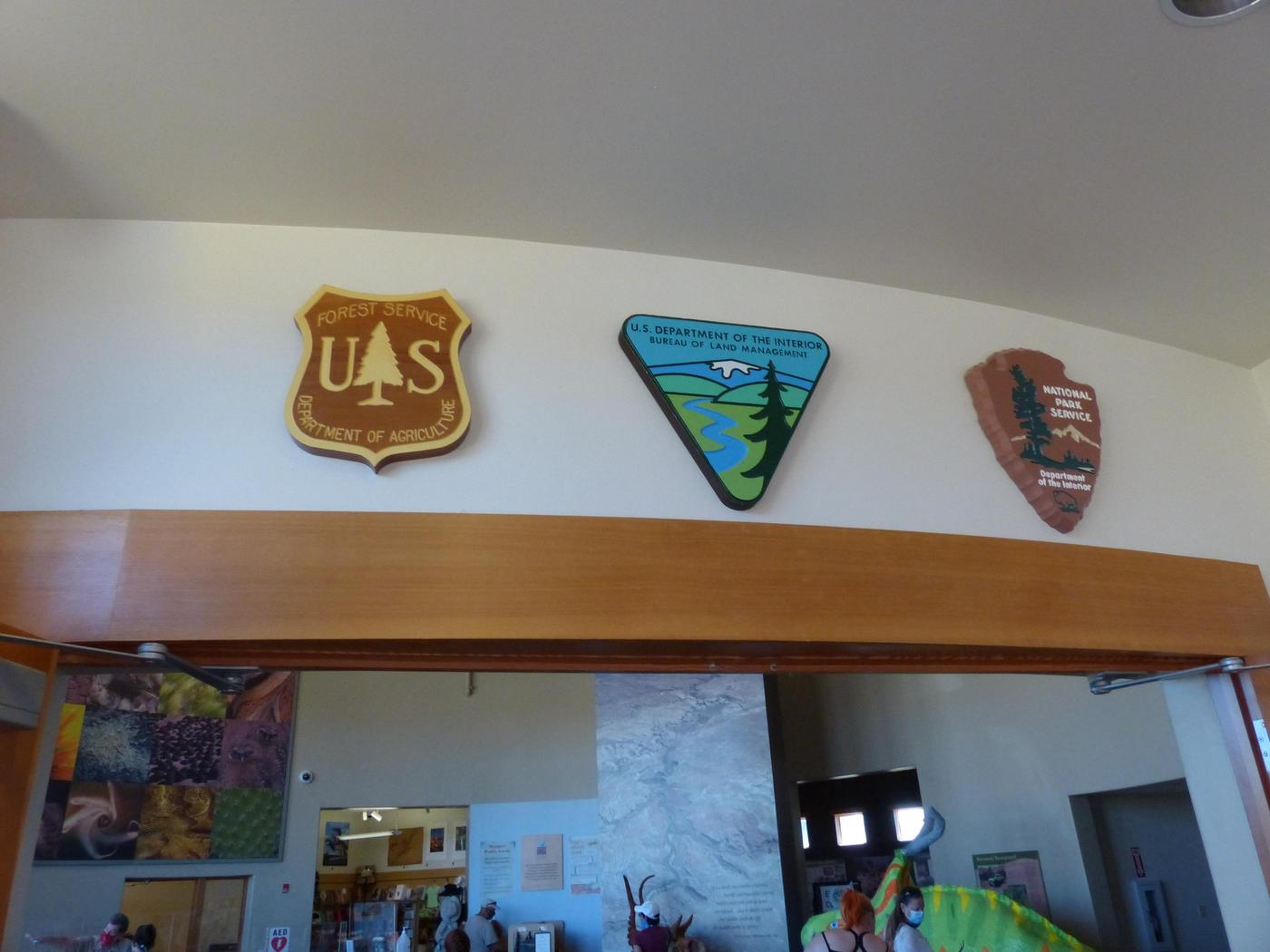 Three AgenciesThree agencies work together to help you at Escalante Interagency Visitor Center.