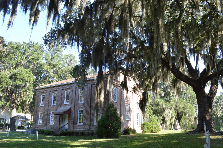 Brick Baptist ChurchBrick Baptist Church, located on the Penn Center National Historic Landmark District, was home to the Penn School between 1862-1865